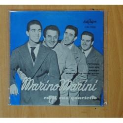 MARINO MARINI ED IL SUO QUARTETTO - PETRONIO + 3 - EP