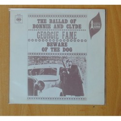 GEORGIE FAME - THE BALLAD OF BONNIE AND CLYDE / BEWARE OF THE DOG - SINGLE