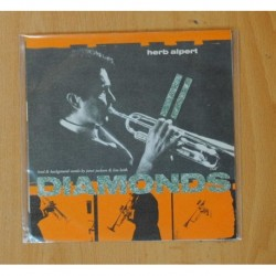 HERB ALPERT - DIAMONDS - SINGLE