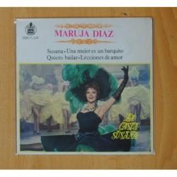 MARUJA DIAZ - LA CASTA SUSANA - SUSANA + 3 - EP