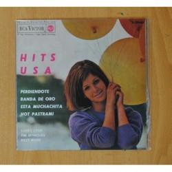 SANDY LYNN, TIM REYNOLDS & BILLY WADE - HITS USA - PERDIENDOTE + 3 - EP