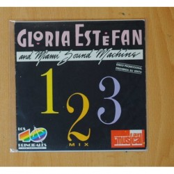 GLORIA ESTEFAN AND MIAMI SOUND MACHINE & THE PASADENAS - 1 2 3 MIX / THE PASADENAS MIX - SINGLE