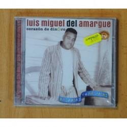 LUIS MIGUEL DEL AMARGUE - CORAZON DE DINERO - CD