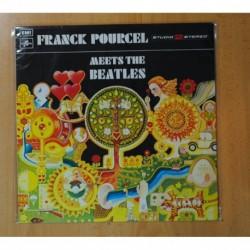 FRANK POURCEL - MEETS THE BEATLES - LP