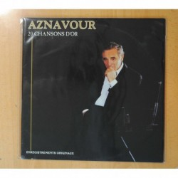AZNAVOUR - 20 CHANSONS D OR - LP