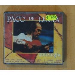 PACO DE LUCIA - ANTOLOGIA - 2 CD