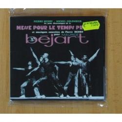 PIERRE HENRY / MICHEL COLOMBIER - MESSE POUR LE TEMPS PRESENTS - CD