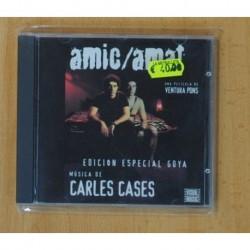 CARLES CASES - AMIC / AMAT / EDICION ESPECIAL GOYA - CD
