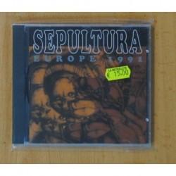 SEPULTURA - EUROPE 1991 - CD
