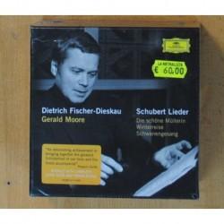 DIETRICH FISCHER-DIESKAU / GERALD MOORE / FRANZ SCHUBERT - DIE SCHONE MULLERIN / WINTERREISE / SCHWANENGESANG - BOX - 21 CD
