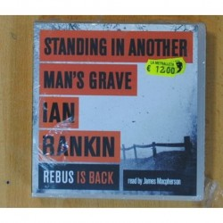 JAMES MACPHERSON - STANDING IN ANOTHER MAN S GRAVE IAN RANKIN / REBUS IS BACK - BOX - CD