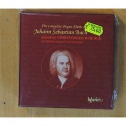 CHRISTOPHER HERRICK - THE COMPLETE ORGAN MUSIC OF JOHANN SEBASTIAN BACH - BOX - CD