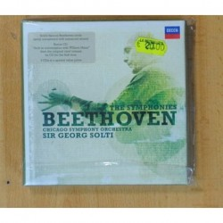 SIR GEORG SOLTI / CHICAGO SYMPHONY ORCHESTRA - THE SYMPHONIES BEETHOVEN - BOX - 7 CD