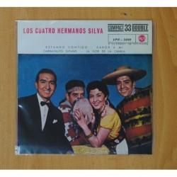 LOS CUATRO HERMANOS SILVA - ESTANDO CONTIGO + 3 - EP