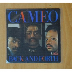 CAMEO - BACK AND FOURTH / YOU CAN HAVE THE WORLD - SINGLE