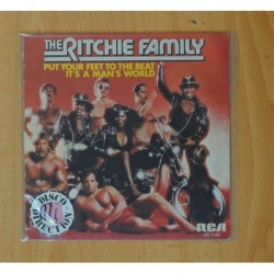 THE RICHIE FAMILY - PUT YOUR FEET TO THE BEAT / IT´S A MAN´S WORLD - SINGLE