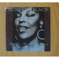 ROBERTA FLACK - LET THE NIGHT TO MUSIC / NATURAL THING - SINGLE