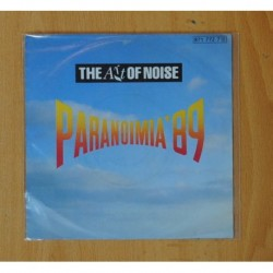 THE ART OF NOISE - PARANOIMIA´89 / ROOM FULL OF MIRRORS - SINGLE