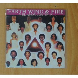 EARTH, WIND & FIRE - AND LOVE GOES ON / WIN OR LOSE - SINGLE