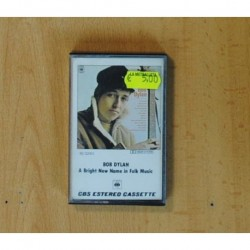 BOB DYLAN - A BRIGHT NEW NAME IN FOLK MUSIC - CASSETTE