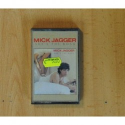MICK JAGGER - SHE´S THE BOSS - CASSETTE