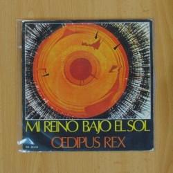 OEDIPUS REX - MI REINO BAJO EL SOL - SINGLE