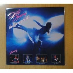 VARIOS - DIRTY DANCING LIVE IN CONCERT - LP