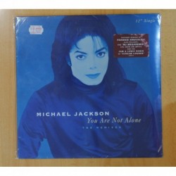 MICHAEL JACKSON - YOU ARE NOT ALONE - PRECINTADO - MAXI