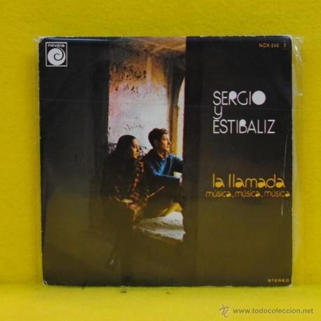 SERGIO Y ESTIBALIZ - LA LLAMADA - SINGLE