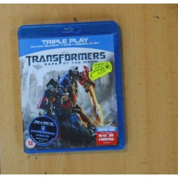 TRANSFORMERS DARK OF THE MOON + DVD - BLURAY