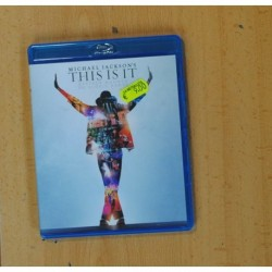 MICHAEL JACKSON THIS IS IT - BLURAY