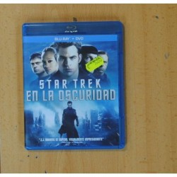 STAR TREK EN LA OSCURIDAD + DVD - BLURAY