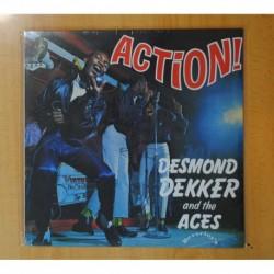 DESMOND DEKKER AND THE ACES - ACTION - LP