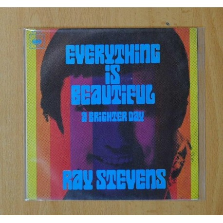 RAY STEVENS - EVERYTHING IS BEAUTIFUL / A BRIGHTER DAY - SINGLE