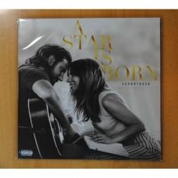 LADY GAGA / BRADLEY COOPER - A STAR IS BORN - BSO - GATEFOLD - 2 LP