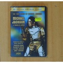MICHAEL JACKSON A TROUBLED GENIUS - DVD