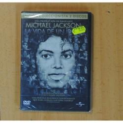 MICHAEL JACKSON LA VIDA DE UN IDOLO - 2 DVD