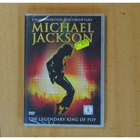 MICHAEL JACKSON THE LEGENDARY KING OF POP - DVD