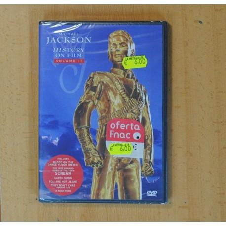 MICHAEL JACKSON HISTORY ON FILM VOLUME II - DVD