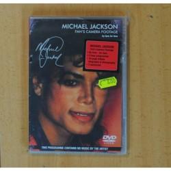 MICHAEL JACKSON FAN S CAMERA FOOTAGE - DVD