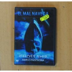GHOST SHIP BARCO FANTASMA - DVD