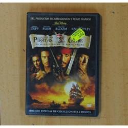 PIRATAS CARIBE LA MALDICION DE LA PERLA NEGRA - DVD