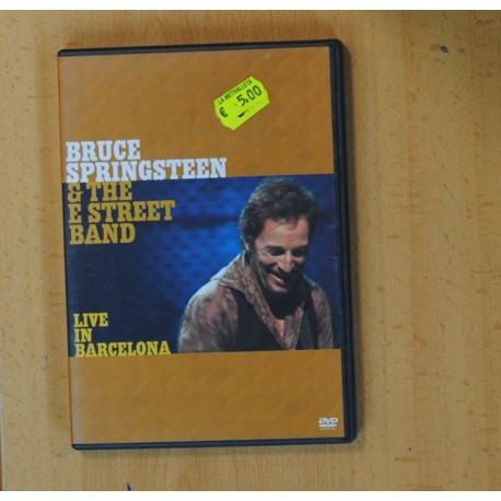 BRUCE SPRINGSTEEN & THE E STREET BAND - LIVE IN BARCELONA - DVD