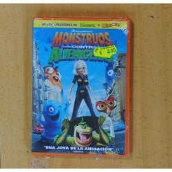MONSTRUOS CONTRA ALIENIGENAS - DVD