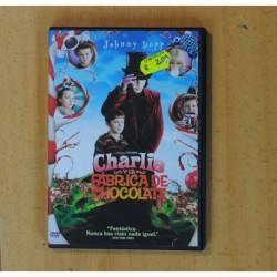 CHARLIE Y LA FABRICA DE CHOCOLATE - DVD