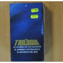LA GUERRA DE LAS GALAXIAS / EL IMPERIO CONTRAATACA / EL RETORNO DEL JEDI - VHS