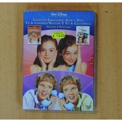 TU A BOSTON Y YO A CALIFORNIA / TU A LONDRES Y YO A CALIFORNIA - 2 DVD