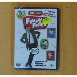 MR BEAN FUNNY FACES - DVD