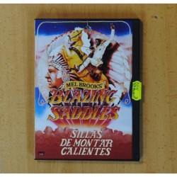 SILLAS DE MONTAR CALIENTES - DVD