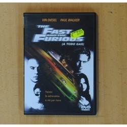 THE FAST AND THE FURIOUS (A TODO GAS) - DVD